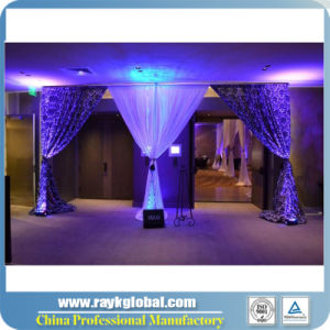 Portable Pipe and Drape for Wedding Backdrop Pipe and Drape Kits pictures & photos