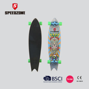 "42"" Fish Tail Fashionable Longboard pictures & photos"