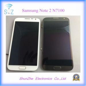 Mobile Phone Touch Screen LCD for Samsung Note2 Note 2 N7105 pictures & photos