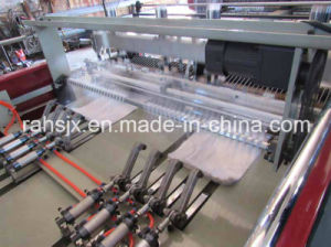 Full Automatic Double Lines Heat Cutting T-Shirt Bag Machine pictures & photos