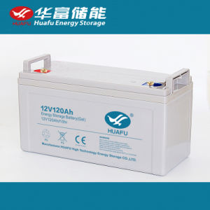 Solar Deep Cycle Gel Battery 12V120ah for Solar Power pictures & photos