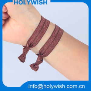 Unique Custom Elastic Wristband Colorful Hair Band for Lady pictures & photos