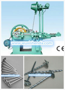 Galvanzied Roofing Nail Making Machine pictures & photos