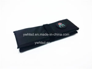 210d with PE Foam PVC Logo Cheep Folding Cushion pictures & photos