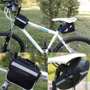 Bicycle Mountain Road MTB Bike Cycling Fabric Saddle Bag Bicycle Repair Tools Pocket Packbag Bicycle Strap-on Seat Bag pictures & photos
