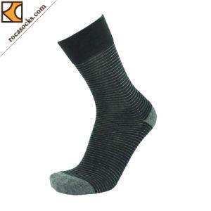 2017 New Design Cotton Dress Socks of Men′s (163010SK) pictures & photos