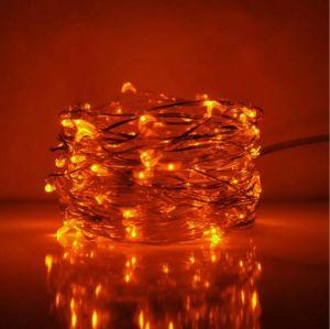Christmas Decorative Outdoor Orange LED Flashing Rope Light