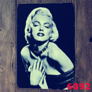 Marilyn Monroe 30*40cm Vintage Signs Tinplate pictures & photos