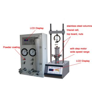 80kn High Pressure Triaxial Test Equipment pictures & photos