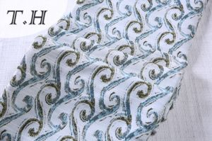 Latest Jacquard Sofa Covers Concise Sofa Material pictures & photos