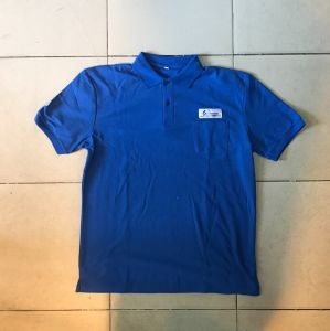 CVC6535 Plus Size Polo Shirt with Embroidery Patch pictures & photos