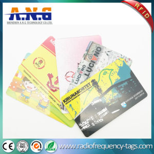 Standard Cr80 RFID Contactless MIFARE Card with Signature Panel pictures & photos