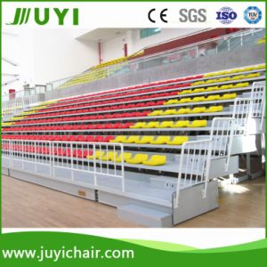 Jy-706 Indoor Tribune Retractable Seats Bleachers Plastic Seating pictures & photos