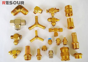 Refrigeration Brass Fitting, Nut/Safety Puly/Access Fitting/Connector/Union/Connector/Elbow/Tee/ pictures & photos