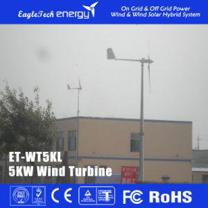 5kw Wind Turbine Generator Windmill Wind Power System pictures & photos