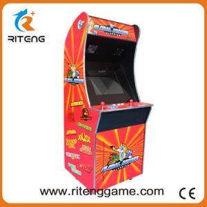 Global Retro Stand up Arcade Games Machine for 2 Players pictures & photos