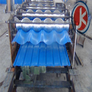 Automatic Tile Press for Steel Roof Wall Panel Double Layer Roll Forming Machine pictures & photos