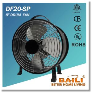"High quality 8"" Drum Fan with 100% Copper Motor pictures & photos"