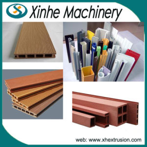 PVC Wood Profile Plastic Making Machine Line/WPC Profile and Board Production Line pictures & photos