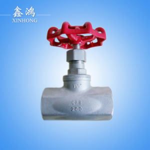 "304 Stainless Steel Globe Valve Dn32 11/4"" Made in China pictures & photos"