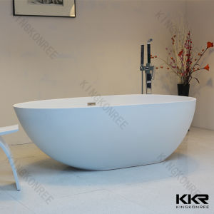 Modern Style Acrylic Surface Freestanding Bathtub 062107 pictures & photos