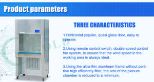 Sugold HS-840u Stainless Steel Class II Laminar Flow Cabinet pictures & photos