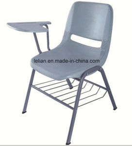 Heavy Duty Plastic Stacking Chair with Tablet Arm for Options (LL-0001) pictures & photos