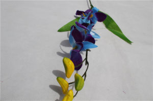 Wholesale High Quality Plastic Artificial Flower Phaleanopsis for Wedding Decoration pictures & photos