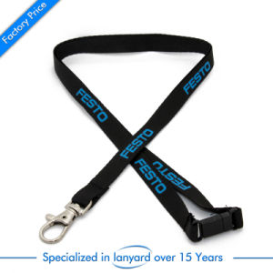 Professional Custom Cheap Dye Sublimation Printed Nylon Lanyard pictures & photos