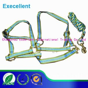 PP Material and Synthetic Saddle Style Colorful Horse Halter