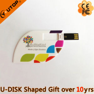 OEM Gift Tree Leaf Card USB Flash Drive (YT-3121) pictures & photos