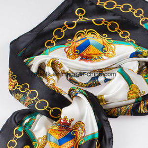 90*90cm 100%Silk Scarf for Woman pictures & photos