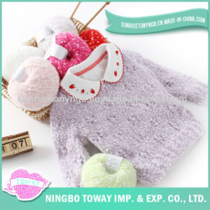 Acrylic Knitting Fashion Cotton Wool Baby Girl Sweaters pictures & photos