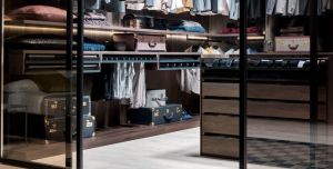 Classical Melamine Wooden Walk-in Closet Wardrobes pictures & photos