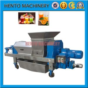 High Quality Ginger Screw Press Juicer Pulper Machine pictures & photos