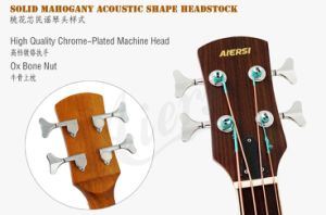 Aiersi Factory Wholesale 4-String Electrical Acoustic Bass (BG01SRCE) pictures & photos