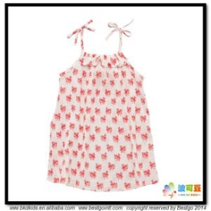 Stripe Printing Baby Wear Gots Baby Clothes Dress pictures & photos