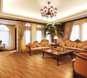 Hot Sale Authentic Wooden Pattern European Style Tan Color Porcelain Wooden Tile Made in China Foshan pictures & photos