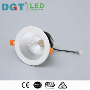 Commercial 12W Dimmable Citizen / Bridgelux LED COB Downlight pictures & photos