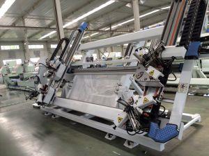 Four Head CNC Aluminium Window Corner Crimping Machine pictures & photos