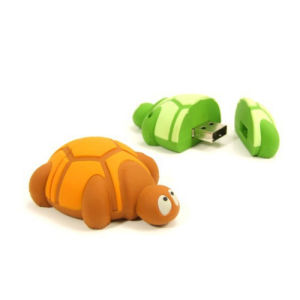 Cute Turtle Model USB Flash Drive Custom Logo Gift Creative Advertising USB 256GB pictures & photos