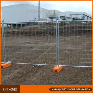 Hot Galvanized Outdoor Australia Temporary Metal Fence Panels pictures & photos