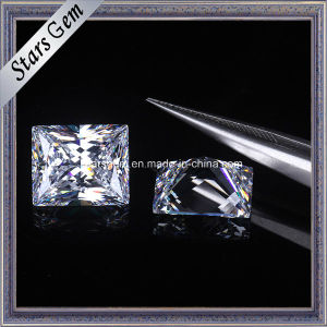 High Quality Baguette 12X10mm Cubic Zirconia Gemstone pictures & photos