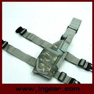 Military Airsoft Hunting Pistol Holster Tornado Universal Tactical Thigh Pistol Holster Right pictures & photos
