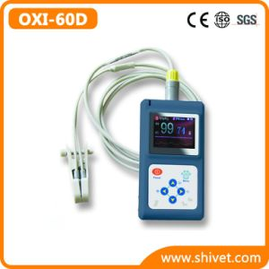 Veterinary Handheld Pulse Oximeter (OXI-60D) pictures & photos