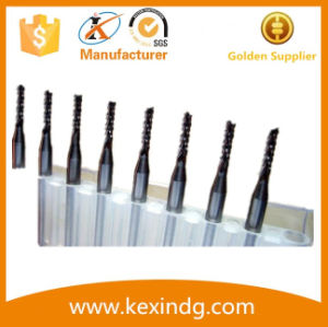 Good Chip Removal Performance PCB Router Bits for Aluminum Copper pictures & photos