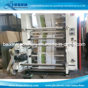 Doctor Blade Type 6 Colors Flexographic Printing Machine pictures & photos