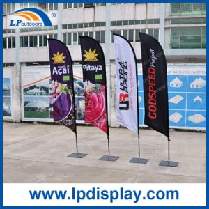 2.8m Feather Flag with Square Base Banners for Advertising Promotion pictures & photos