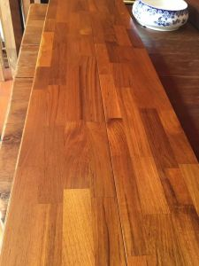 Natural Insect Resistance Solid Wood Teak Flooring pictures & photos