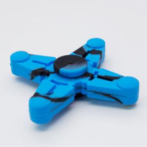 2017 New Arrival Trochal Disc Fidget Toys Latest Design Silica Gel Colorful Finger Hand Fidget Spinner
